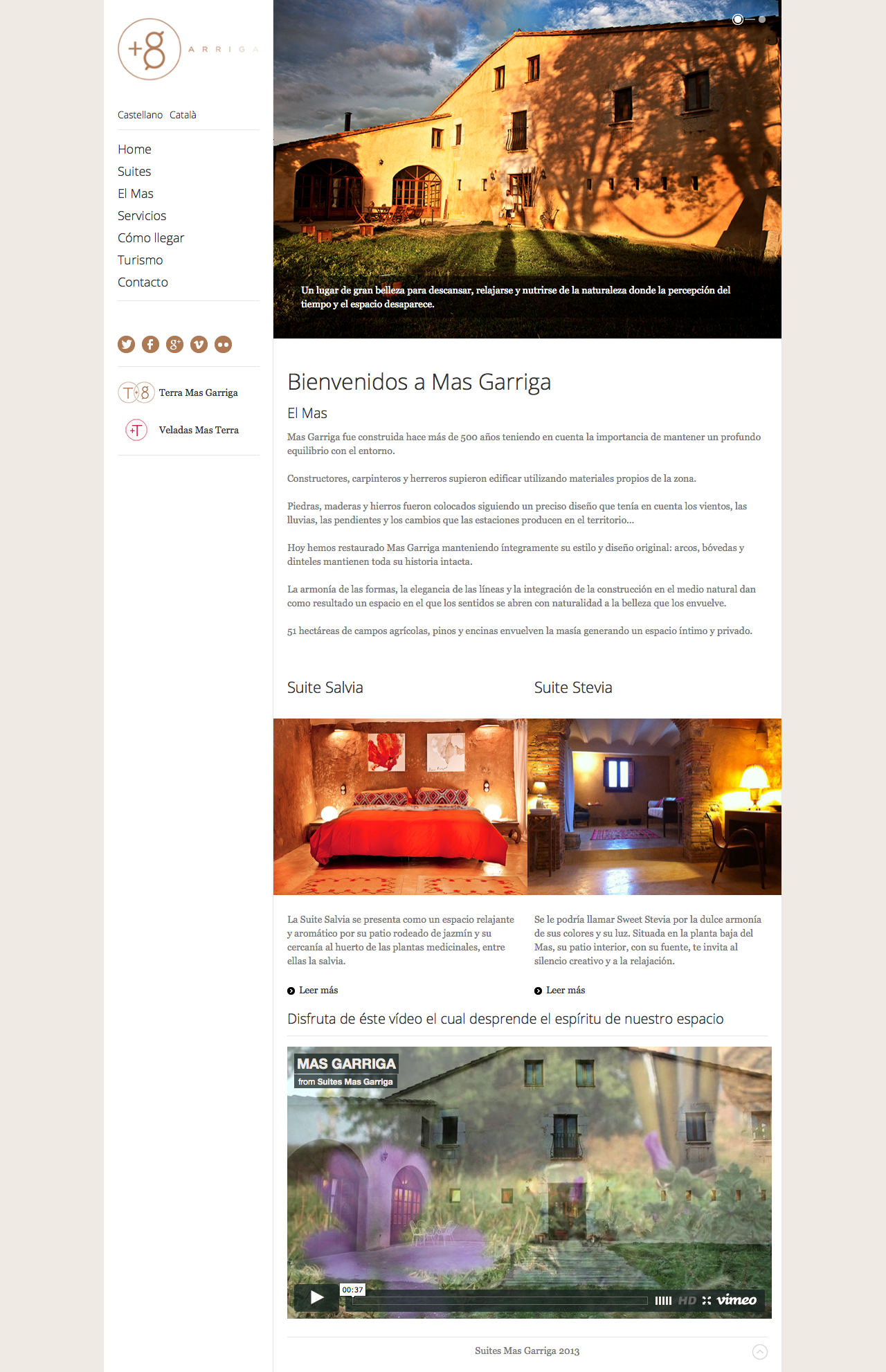 suitesmasgarriga website